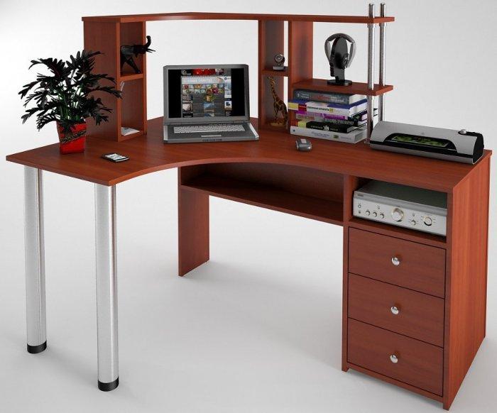 Стол компьютерный С-819+надстройка Н-821