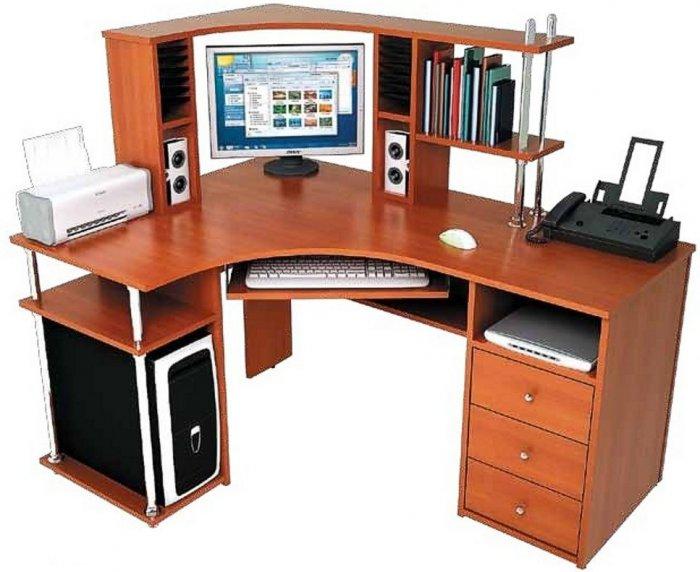 Компьютерный стол С-820 + Н-821