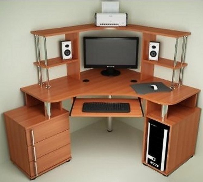 Компьютерный стол С-870 + Н-822