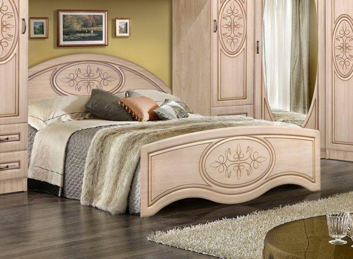 Двуспальная кровать 1600/545 «Василиса»