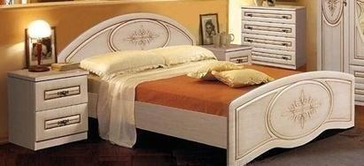 Кровать 1600/370 «Василиса»
