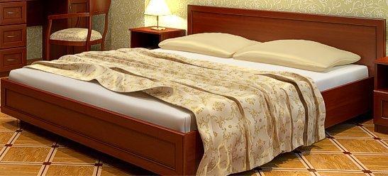 Двуспальная кровать 1650 «Леон»
