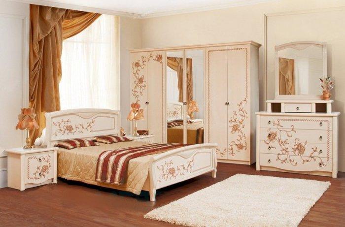 Спальня Ванесса 4Д