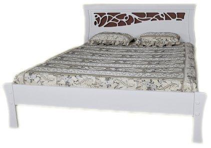 Кровать «Грация» белая