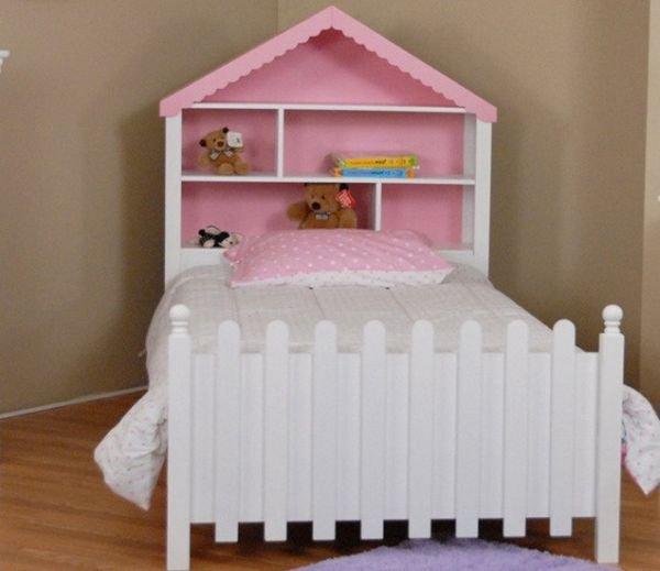 Односпальная кровать Домик - 90x190см