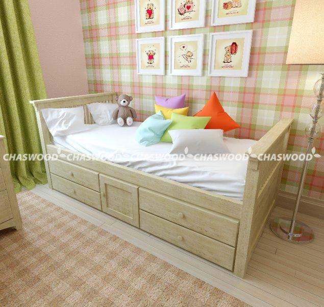 Односпальная кровать Медвежонок