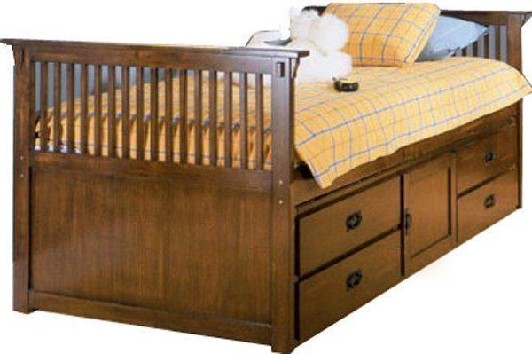 Односпальная кровать Медвежонок - 80x160см