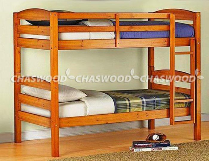 Двухъярусная кровать трансформер Твайс - 90x190см