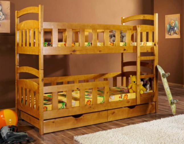 Двухъярусная кровать трансформер Спринт - 90x190см