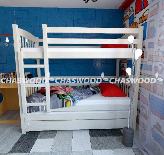 Двухъярусная кровать трансформер Трио +