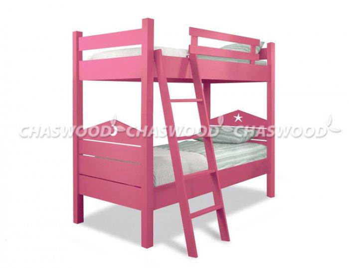 Двухъярусная кровать трансформер Лапушка - 90х190см