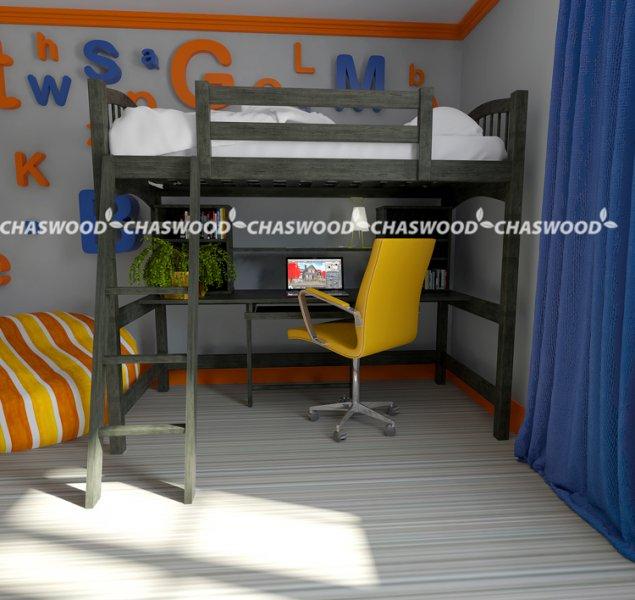 Кровать-чердак Модерн