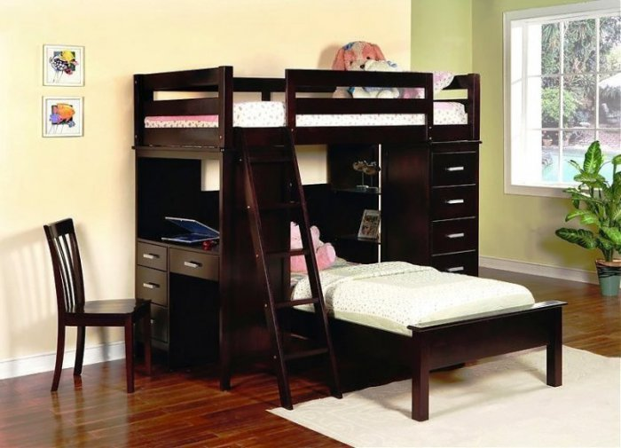 Двухъярусная кровать Камила - 90х190см