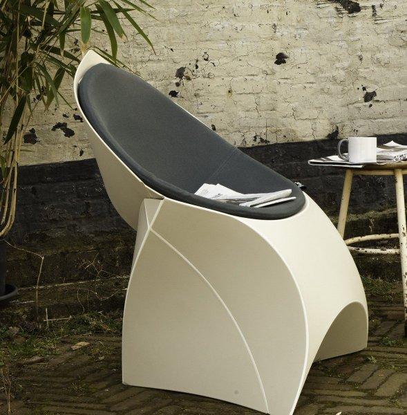 Комплект дизайнерское кресло Flux + подушка