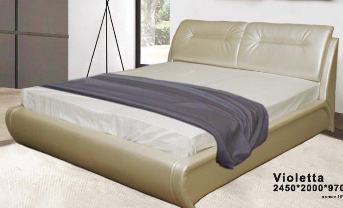 Двуспальная кровать Виолетта 160x190 или 200см