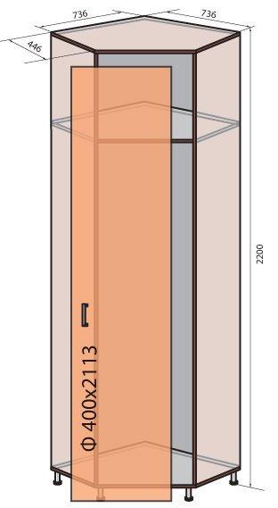 Модуль (М-13) системы Соломия