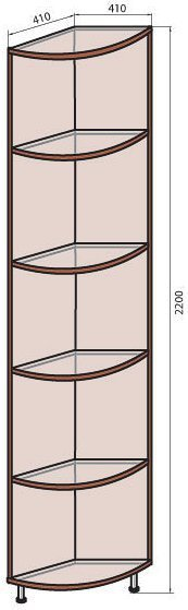 Надставка (М-19) КУТ-300 системы Соломия