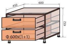 Корпус модуля тумбы (М-1) системы Сафари