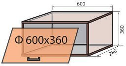 Корпус модуля полки (М-7) системы Сафари