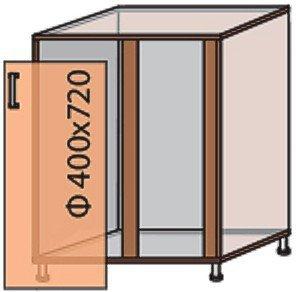 Модуль №15 му 880-820 низ кухни «Квадро»