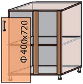 Модуль №16 ну 880-820 низ кухни «Квадро»