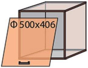 Модуль №12 в 500-406 верх кухни «Мода»