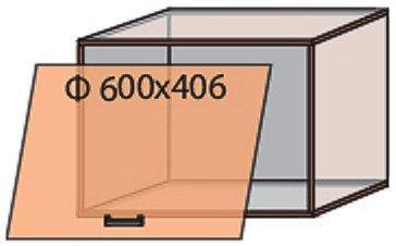 Модуль №13 в 600-406 верх кухни «Мода»