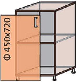 Модуль №4 н 450-820 низ кухни «Мода»