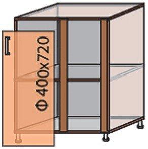 Модуль №16 ну 880-820 низ кухни «Мода»