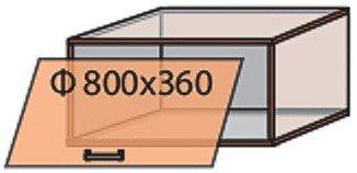 Модуль №11 в 800-360 верх кухни «Флоренция»