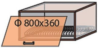Модуль №17 вс 800-360 верх кухни «Флоренция»