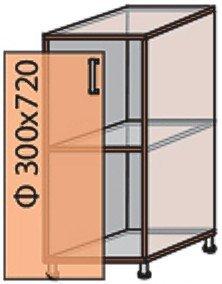 Модуль №2 н 300-820 низ кухни «Флоренция»