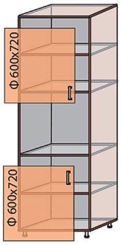 Модуль №18 п 600-2100 низ кухни «Флоренция»