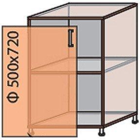 Модуль №5 н 500-820 низ кухни «Виктория New»