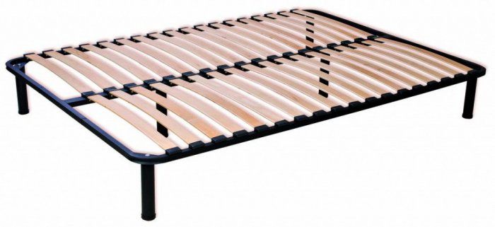 Ламельное основание кровати Ortoland шаг ламелей 6,5 см - 140см