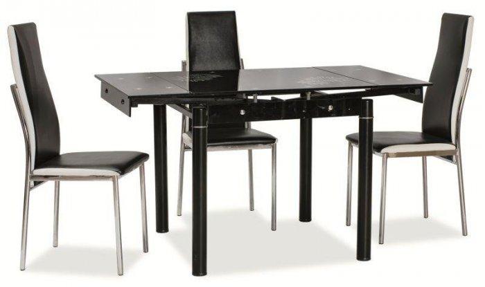 Обеденный стол GD-082 чёрный