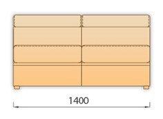 Модуль 2Р140дл для модульного дивана Модена