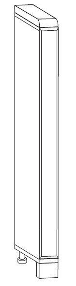 Корпус Тумбы-вставки Т/Н-5 Вика