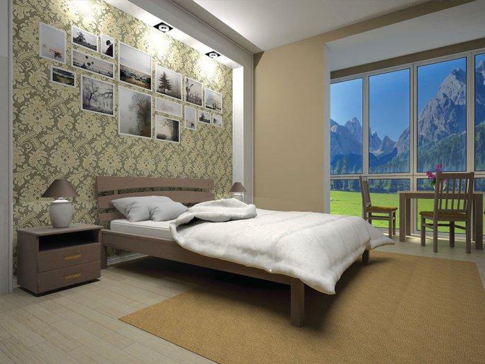 Двуспальная кровать Домино 3 - 180см