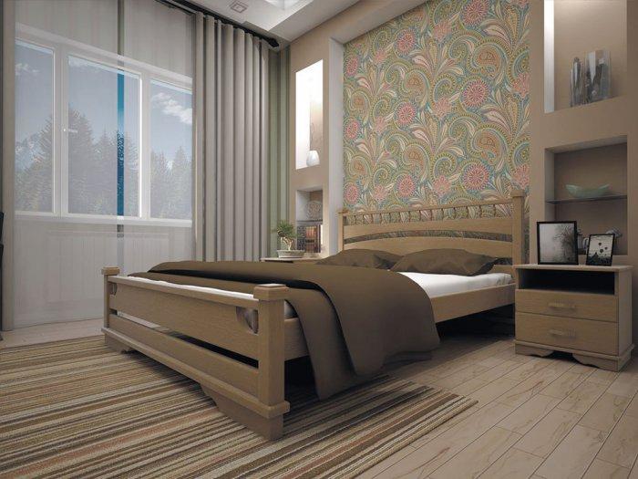 Двуспальная кровать Атлант 1 - 160см
