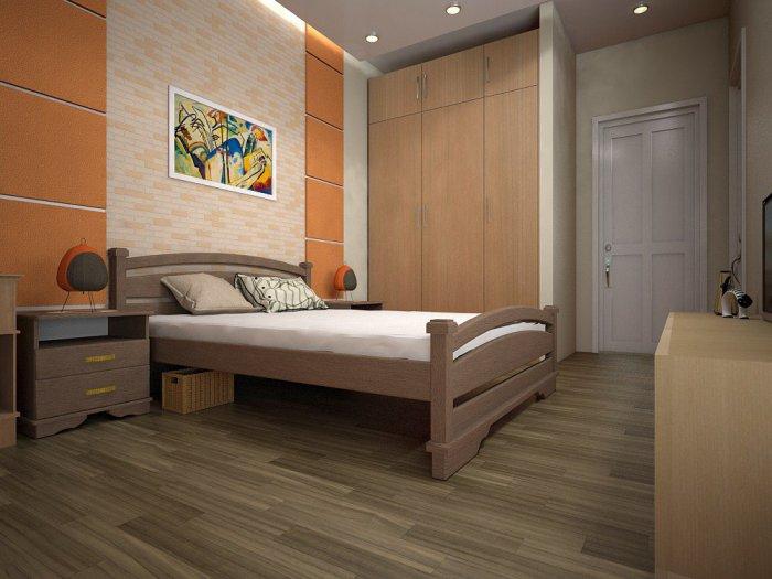Двуспальная кровать Атлант 2 - 160см