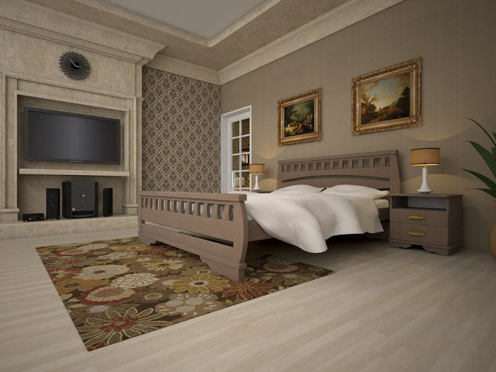 Кровать Атлант 4 - от 90 до 180см