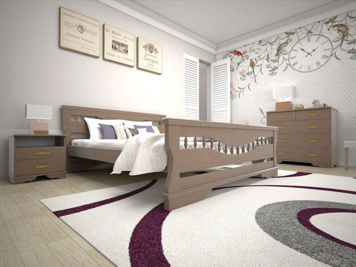 Полуторная кровать Атлант 10 - 140см