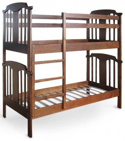 Детская двухярусная кровать - 70х160см