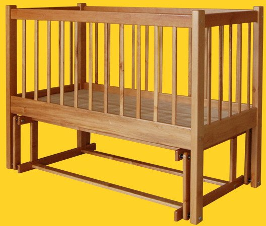 Односпальная кровать -колыбель для новорожденных ТИС