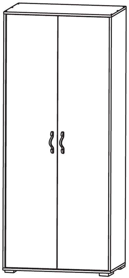Шкаф платяной 2D Фламинго