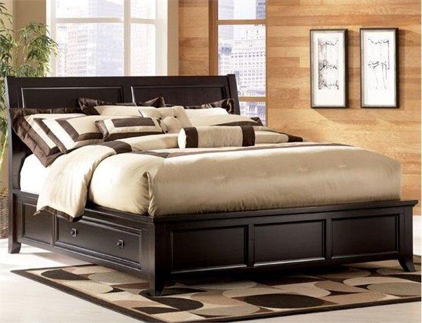 Двуспальная кровать Монако - 180х200см