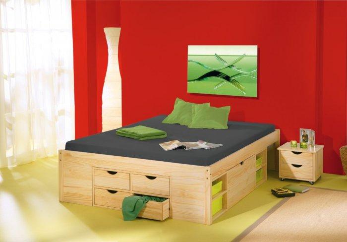 Полуторная кровать Лето - 140х190см