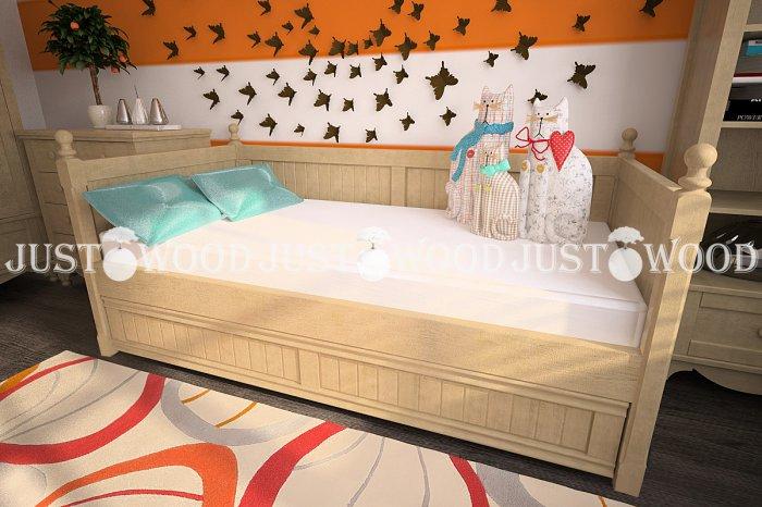 Детская кровать Бемби - 90х190см