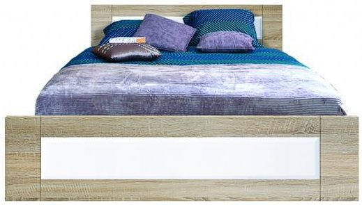 Двуспальная кровать LOZ/160 Оникс